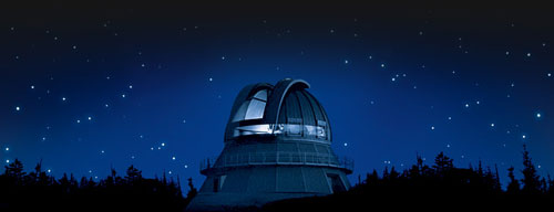 mt. megantic observatory at university of montreal