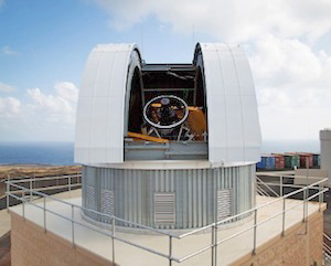 mcat 1.3m telescope observatory on ascension island